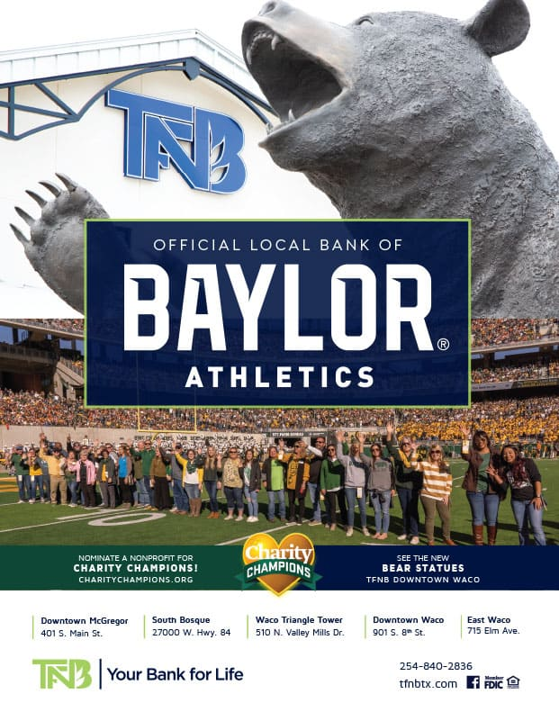 baylor yearbook ad